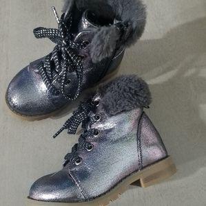 GAP toddler grey boots
